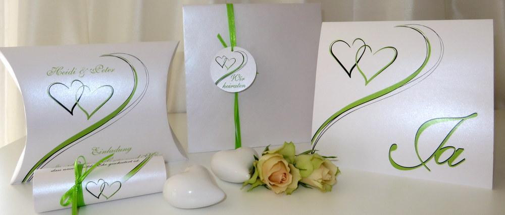 Einladungskarten, Papeterie und Tischdekoration für Hochzeiten, Geburtstage und Jubiläen